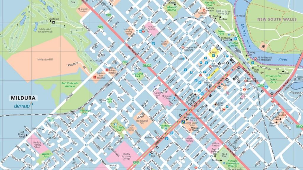 Mildura Free Map demap