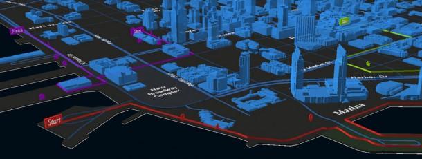 3D Walking Map