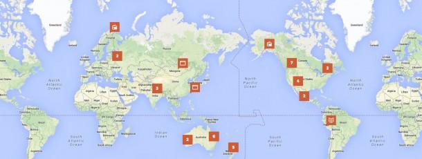 Indigenous Media Web Map